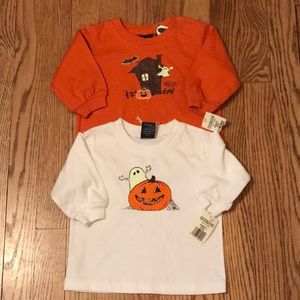 NWT Oshkosh Halloween Tops Bundle 3-6 Months K11
